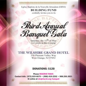 Fundraising Banquet Gala @ The Wilshire Grand Hotel